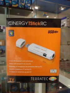 "TV TUNER TERRATEC ""Cinergy T Stick RC"" USB 2.0- 3.0  DVBT + Telecomando, Antenna. Windows - Linux"